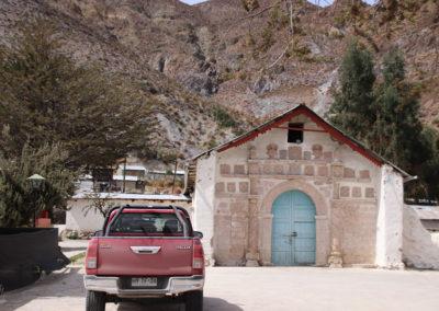 Eglises dans le Nord du Chile