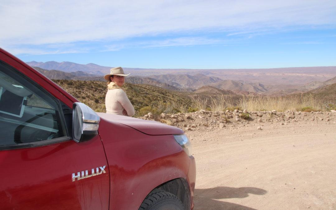 Notre premier repérage 4×4 au Chili du Nord