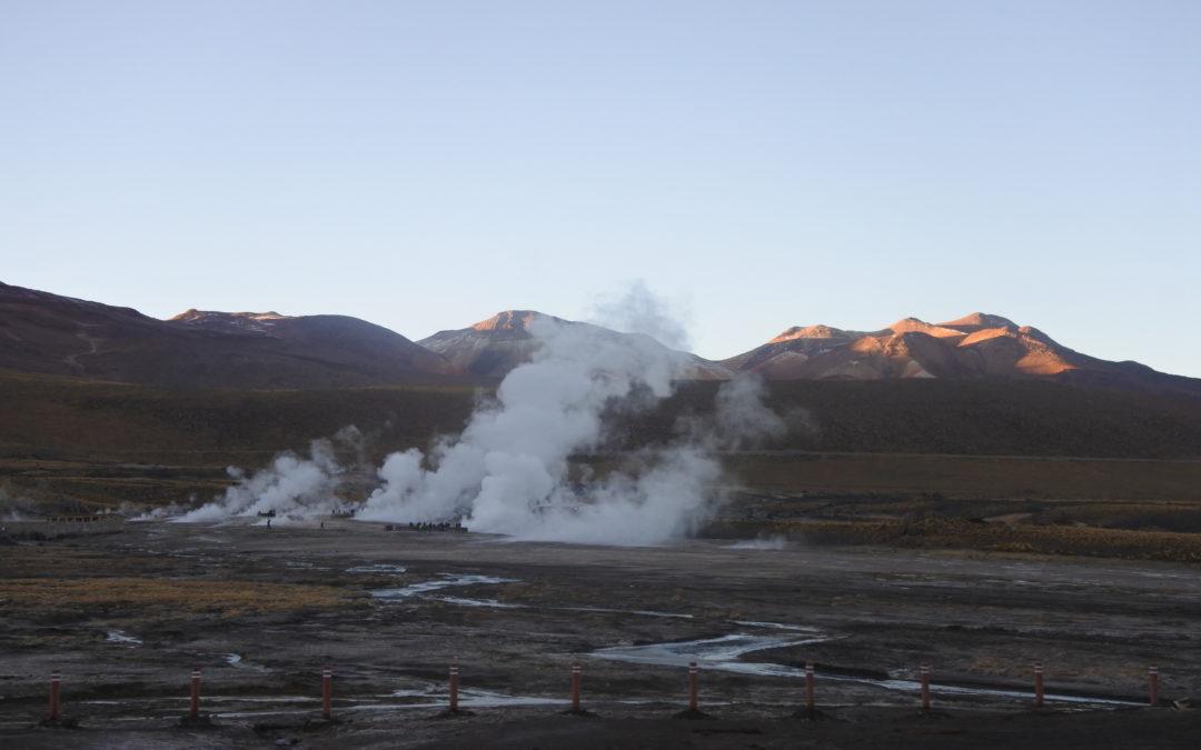 El Tatio : La cuisson d'un œuf sur un geyser !